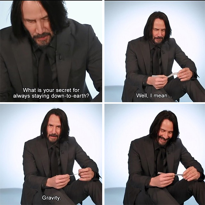 technically the truth keanu reeves down to earth