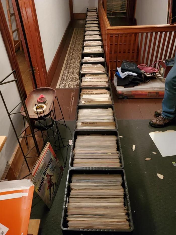 unique collectibles vinyl records