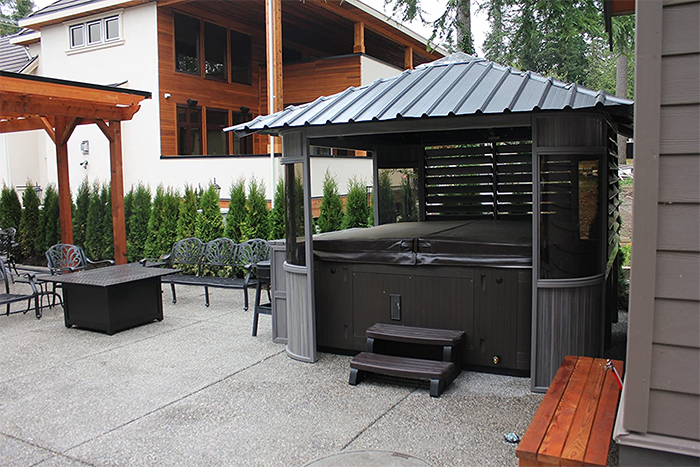 zento ultrawood outdoor spa