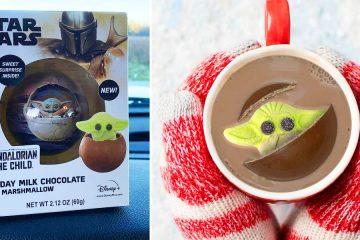 Baby Yoda Hot Cocoa bomb