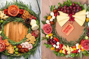 Charcuterie Wreath