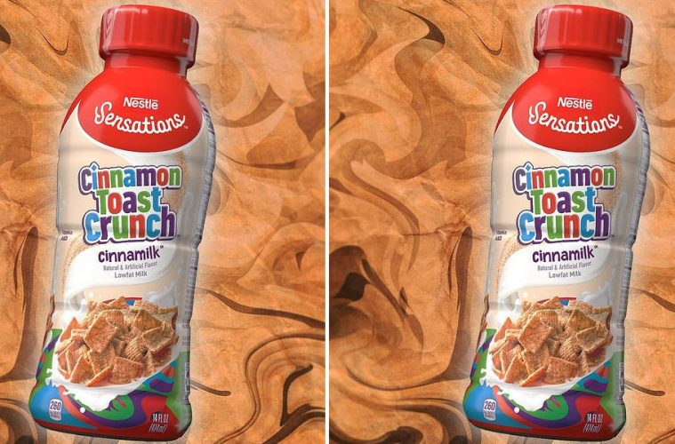Cinnamon Toast Crunch milk