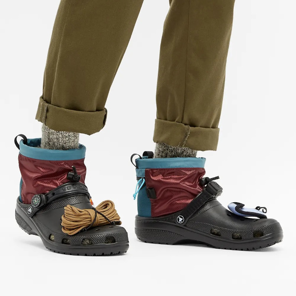 camping crocs when worn