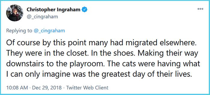 christopher ingraham cats crickets infestation