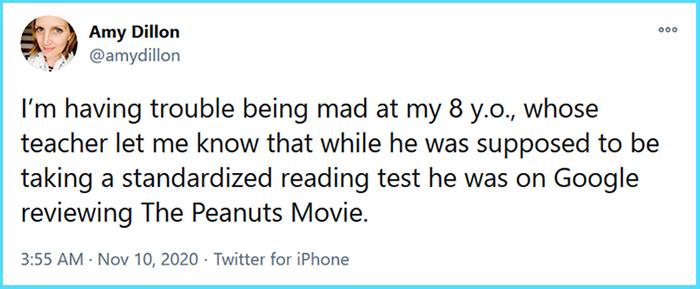 funny parenting tweets future movie critic