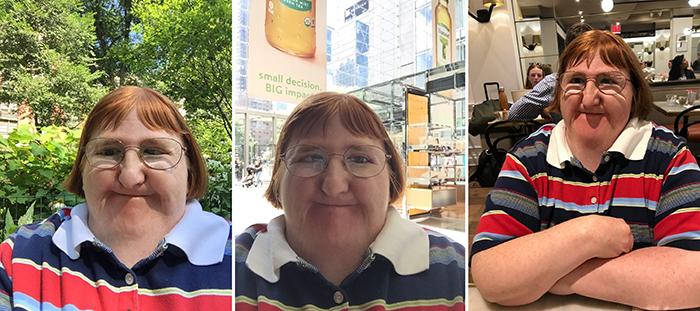 girl responds to online trolls with selfies
