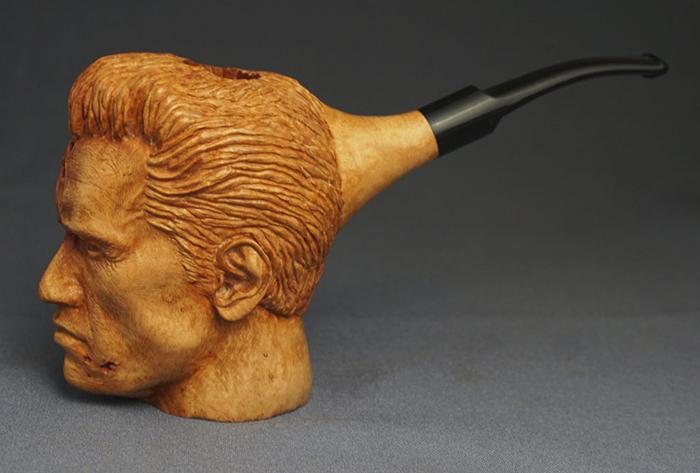 handmade terminator pipe by radon lab