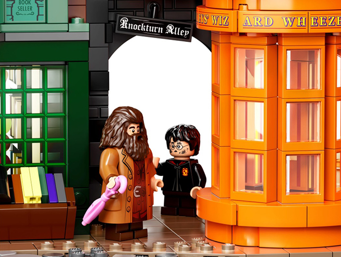 harry potter and hagrid minifigures