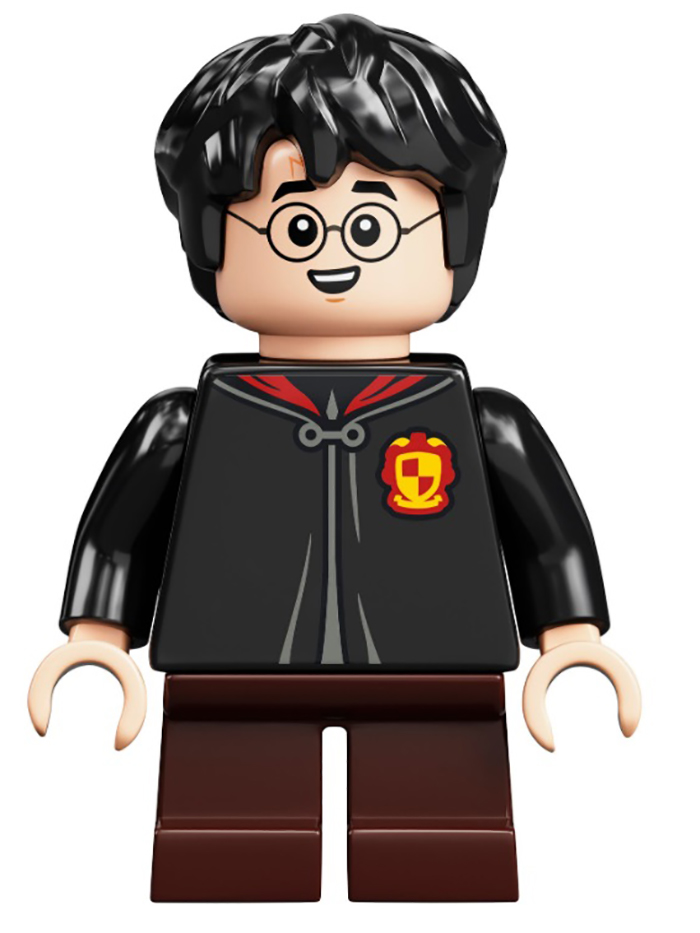 harry potter minifigure