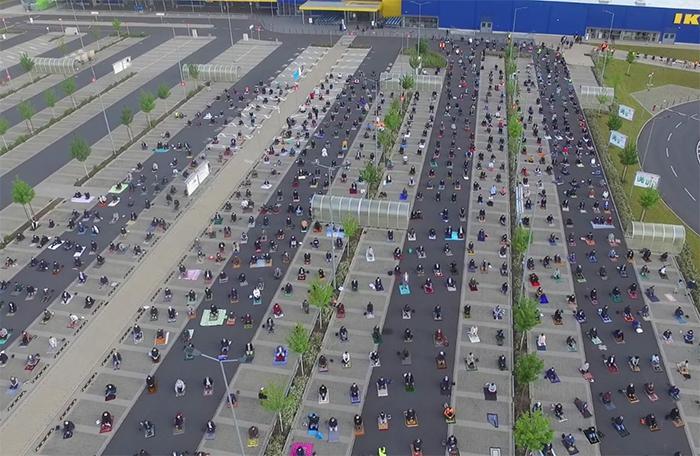 ikea germany car park muslim community