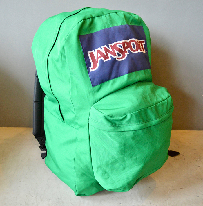 jansport giant backpack green
