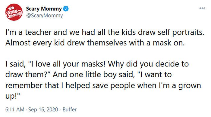 kids self portraits with masks