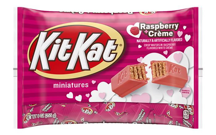 kit kat's raspberry crème