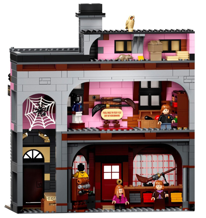 lego harry potter diagon alley set building 2