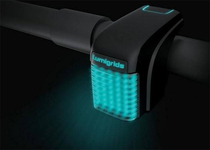 lumigrids bike laser grid projector