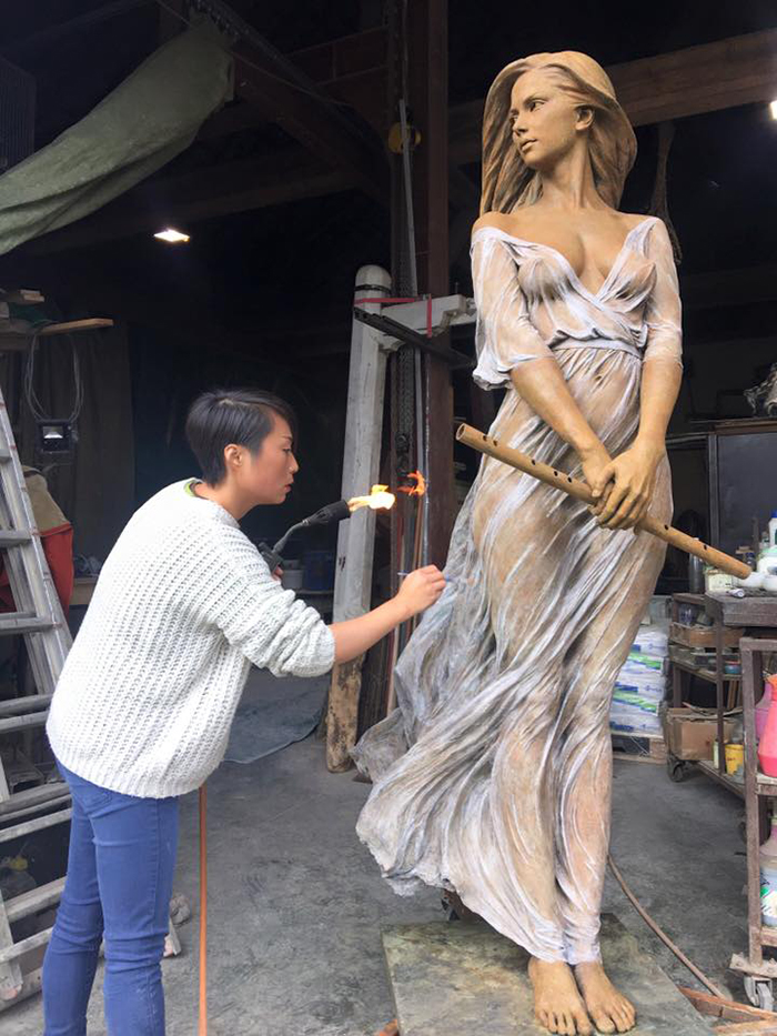 luo li rong realistic sculpture