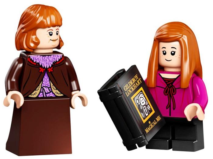 molly weasley and ginny weasley minifigures