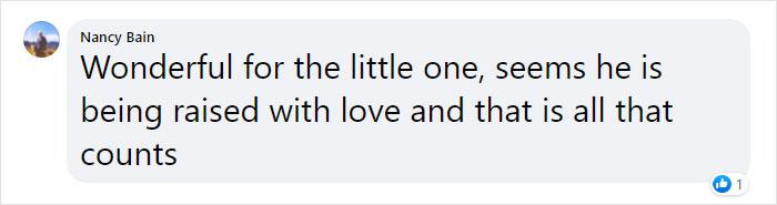 nancy bain facebook comment