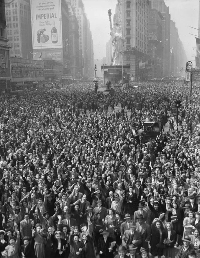 new york city celebrates germany defeat
