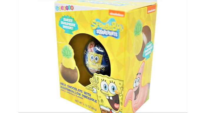 packaging features SpongeBob and his friends