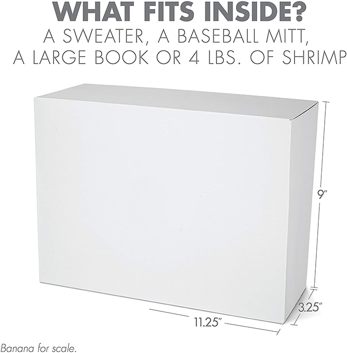 prank gift box size