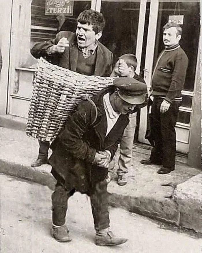 rare photos istanbul drunk basket