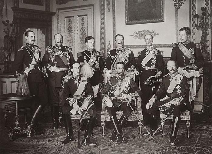 rare photos nine sovereigns at windsor