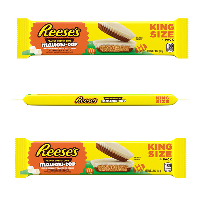 reese's peanut butter cups mallow-top king size