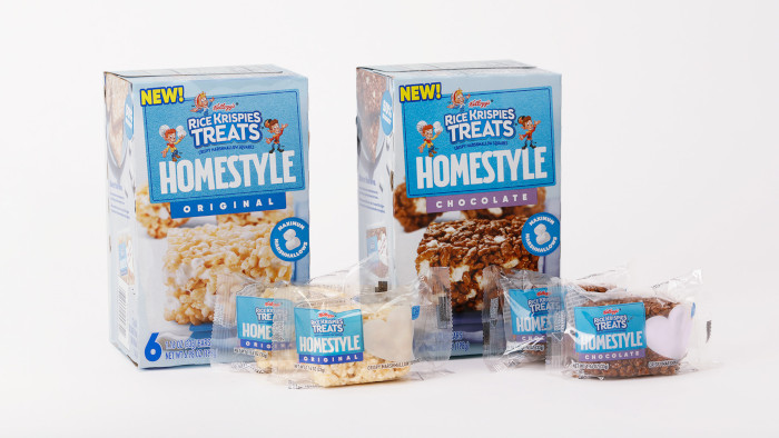 Rice Krispies Treats HOMESTYLE Original and Chocolate