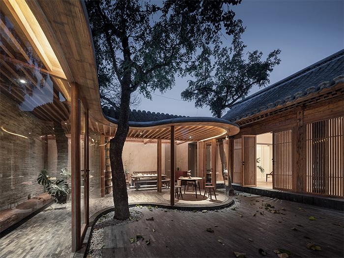 siheyuan renovation chinese courtyard