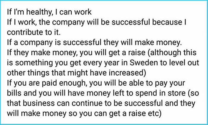 swedish citizen explains sweden economic system