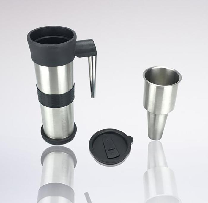 telescoping coffee mug bong components
