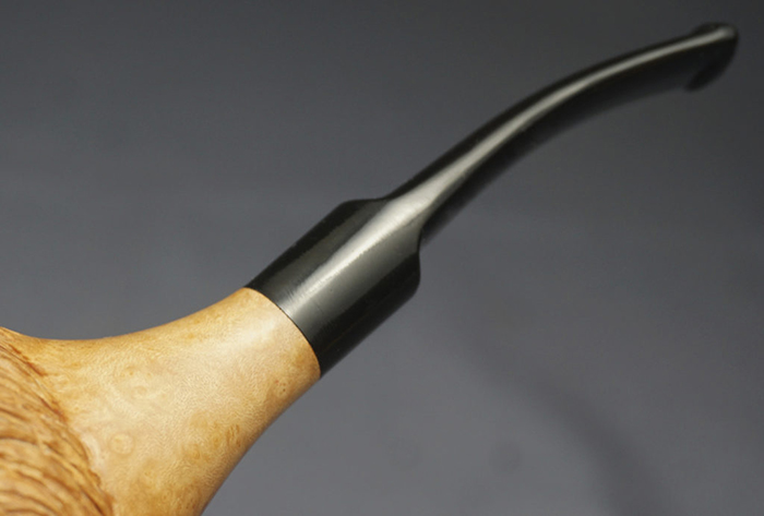 terminator pipe ebonite stem