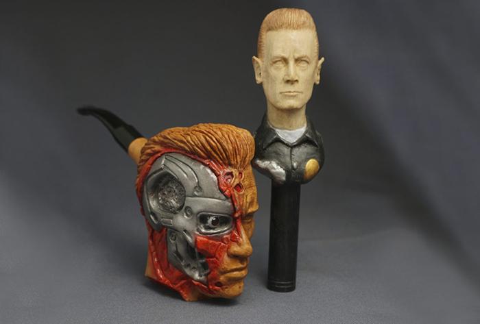terminator pipe for arnold schwarzenegger