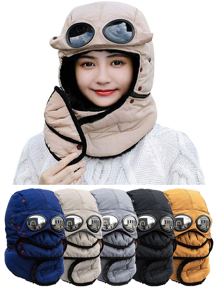 thermal headwear beige