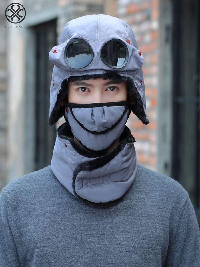 thermal outdoor cap gray