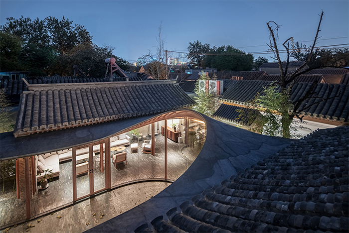 traditional chinese courtyard restoration