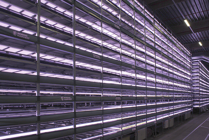 wind-powered vertical farm by yeshealth group and nordic harvest