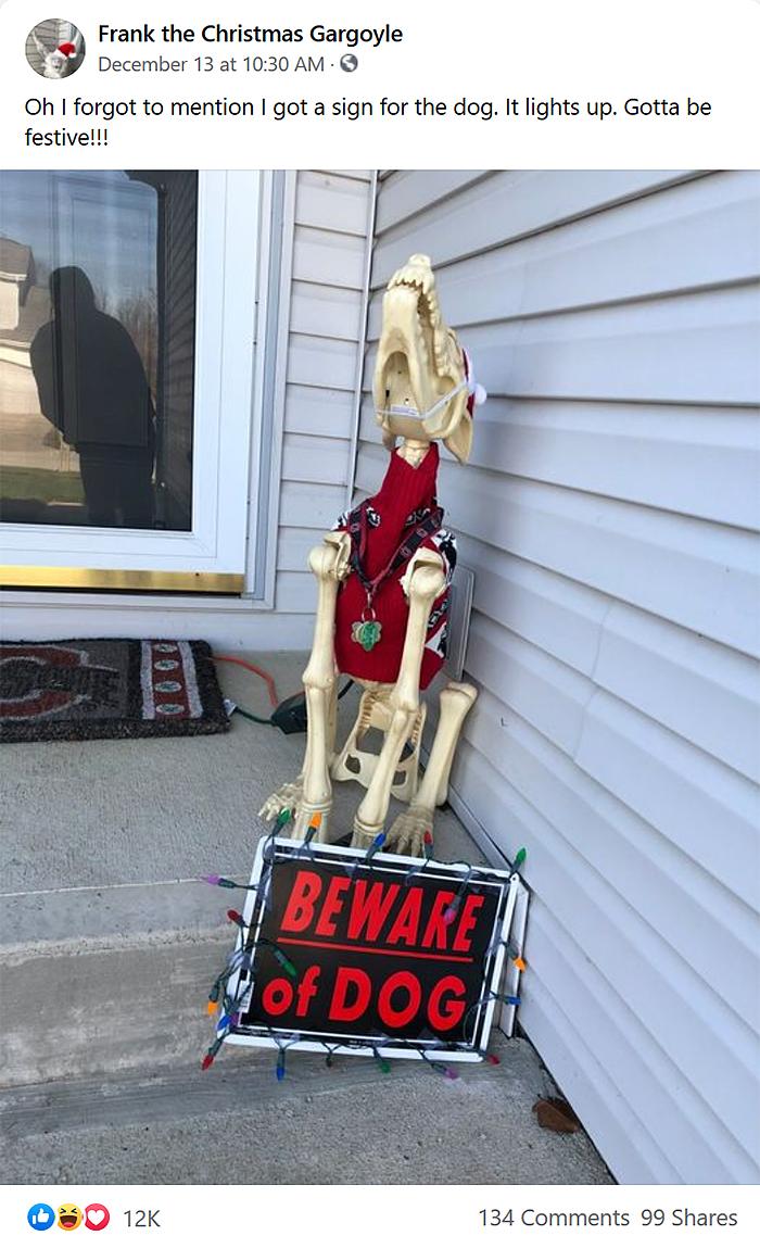 woman responds to obnoxious neighbor