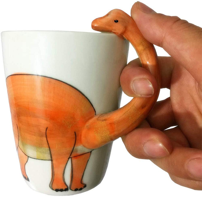 3d dinosaur animal coffee mugs