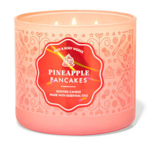 Bath and Body Works new Pineapple Pancakes candle scents