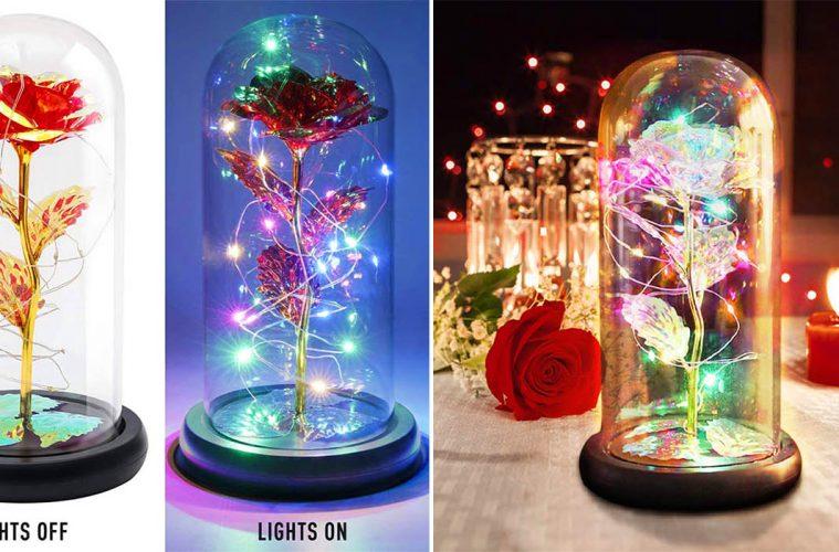 Enchanted Flower lamp