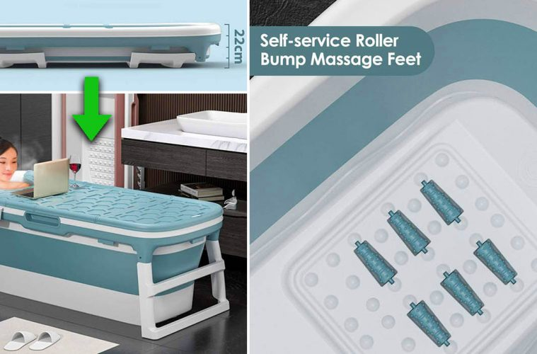 Folding Portable Bathtub
