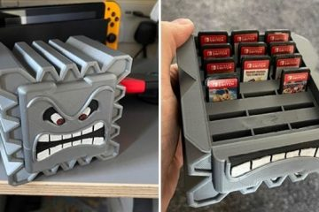 Thwomp Nintendo Switch Game Cartridge Holder