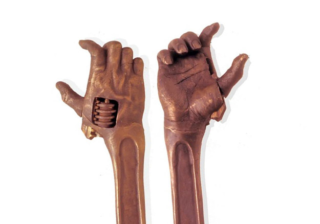 a closer look at the hand shaped wrenches
