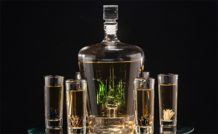 agave decanter set tequila