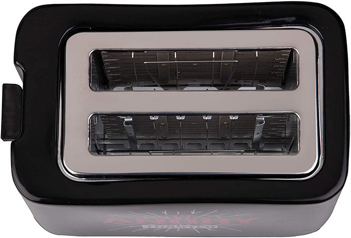 angry toaster wide toasting slots