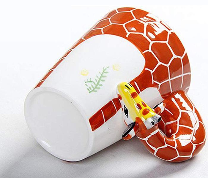 animal coffee mugs giraffe design
