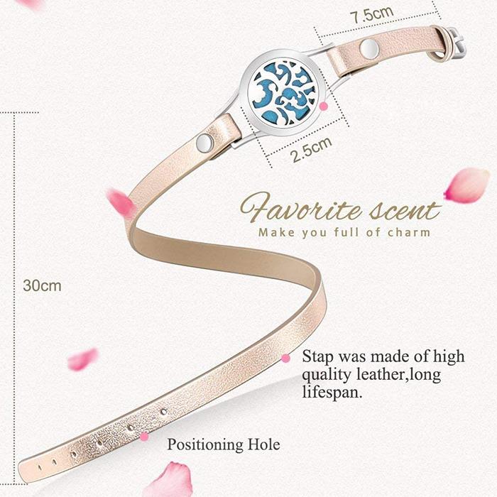 aromatherapy bracelet details