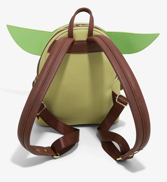 baby yoda mini backpack adjustable straps